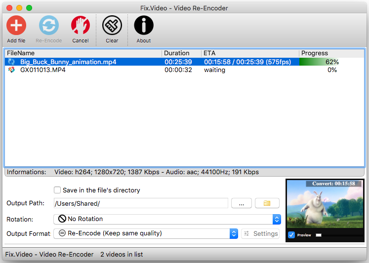 Free Video Converter video files freeware